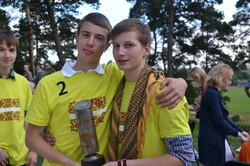 2012 Kausa ieguveji Peters Auzins un Ralfs Pless