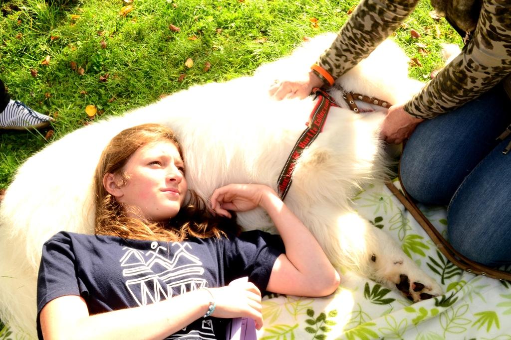 2012 Viesi - iepazisanas ar terapijas suni