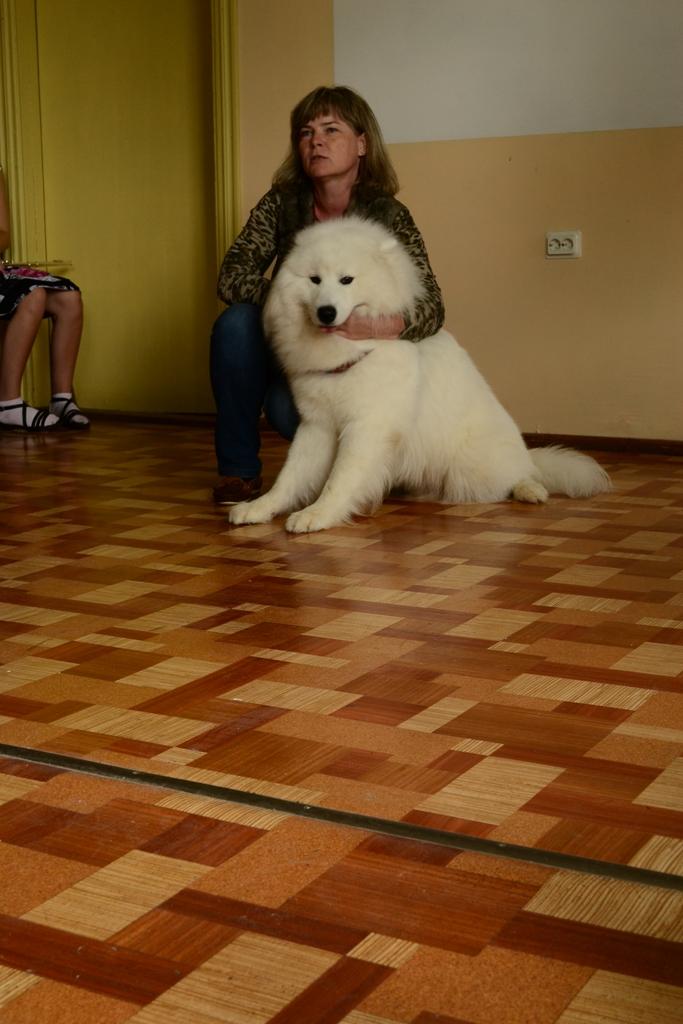 2012 Viesi - Ramonas Karklinas iepazisana ar savu darbu un suni