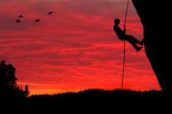Rock Climber Rappelling Silhouette.jpg