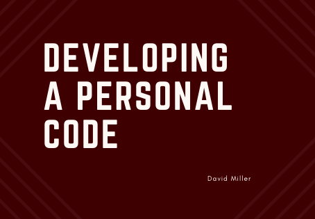 Why You Need a Personal Code & How to Create One