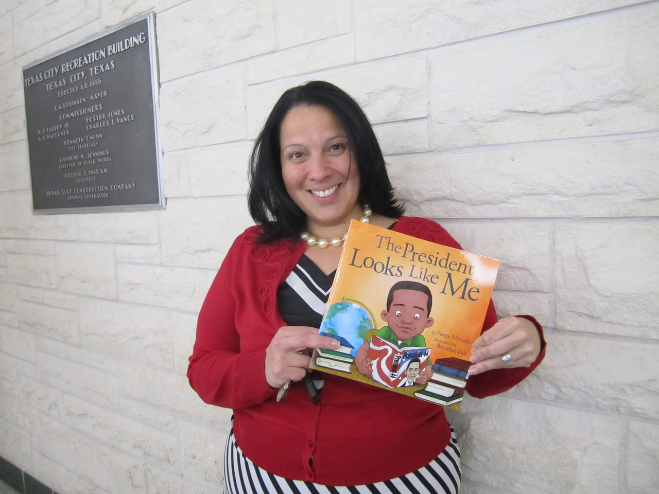 Mrs. Santiago has her copy!