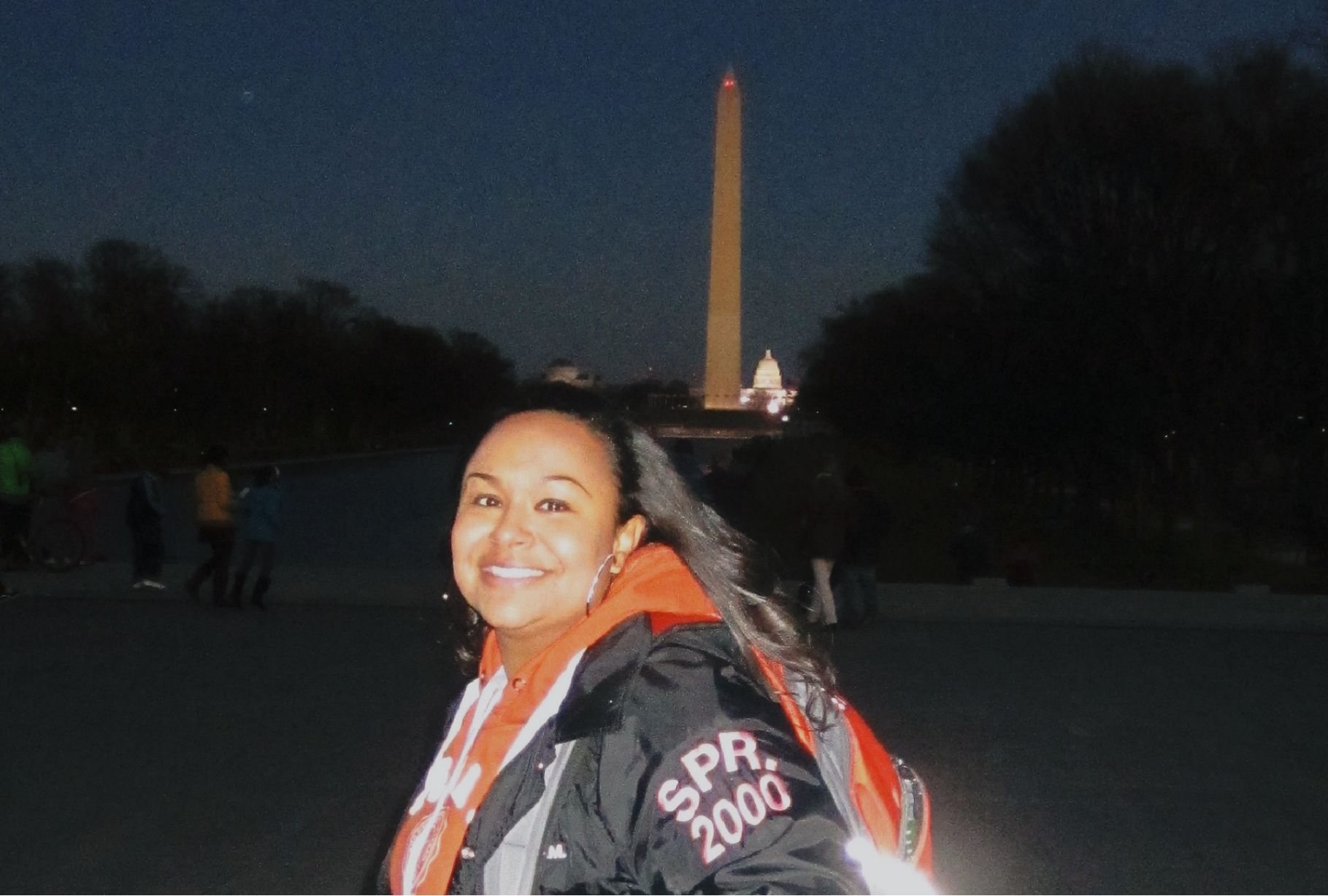 Me & oh... the Washington Monument!
