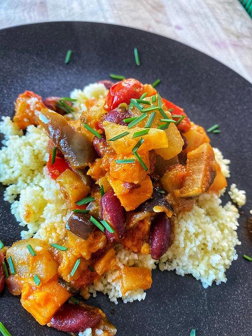 Veggie Medley on Couscous