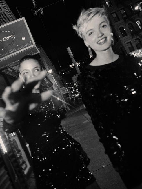 Aya Jones & Ruth bell. Mango in NYC