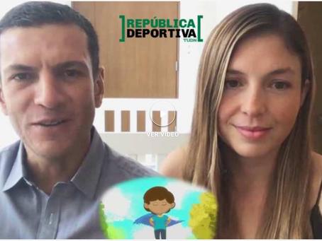 Entrevista en República Deportiva de TUDN Mex