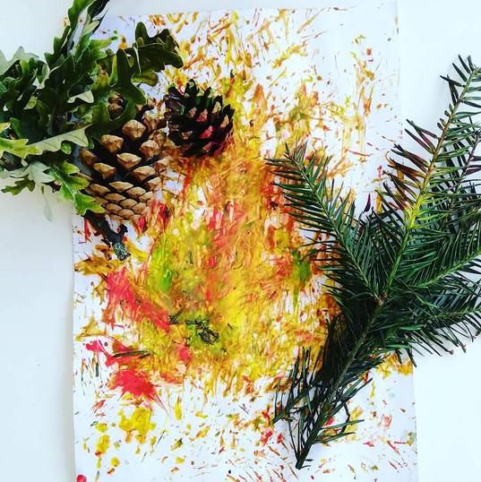 Natural Autumn Painting
