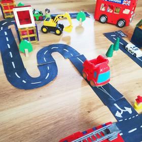 Cardboard Roads