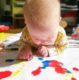 Mess-Free Baby Art