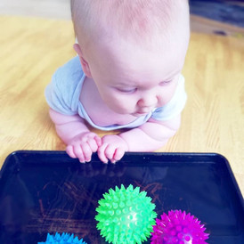 Tummy Time Water Play