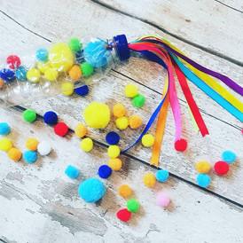 Rainbow Ribbon Shaker