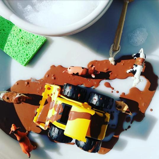 Muddy Toy Wash