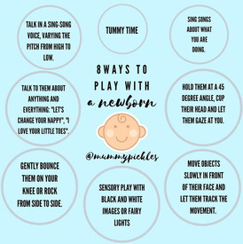 8 Ways to Play with a Newborn
