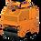 Thumbnail: Каток тротуарный двухвальцовый ручной  DM006