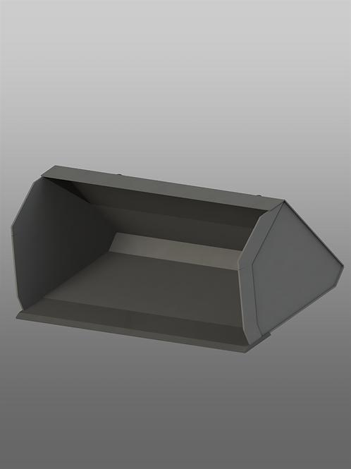 Ковш увеличенной емкости для мини-погрузчика (0,65 куб. метра)