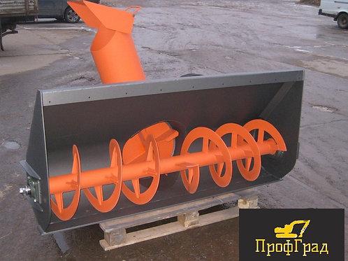 Снегометатель шнекороторный для экскаватора погрузчика 2800 мм.