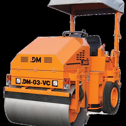 Каток тротуарный комбинированный вибрационный DM-03-VC