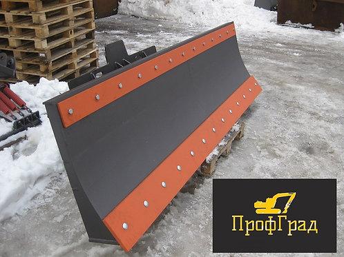 Снежный отвал для мини-погрузчика 1800 мм (механический поворот)
