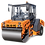 Thumbnail: Каток дорожный комбинированный DM-10-VC