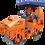 Thumbnail: Каток тротуарный двухвальцовый DM-02-VD