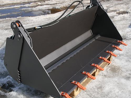 Ковш двучелюстной 4в1 для мини-погрузчика 2100 мм