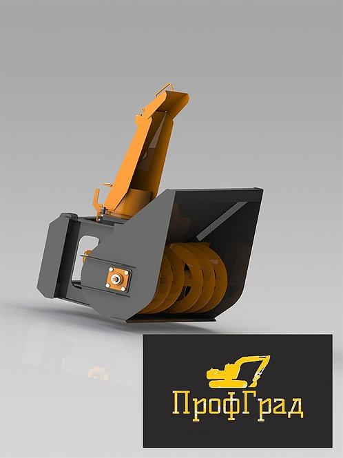 Снегометатель шнекороторный для мини-погрузчика 1800 мм