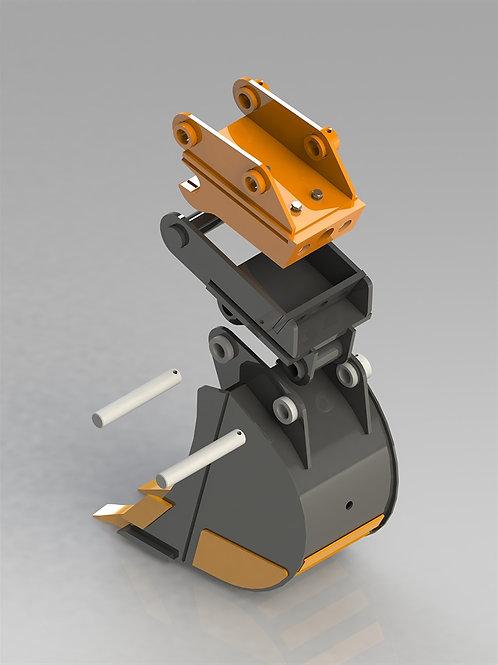 Быстросъемное устройство для мини экскаватора