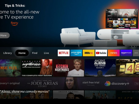 New Amazon Fire TV Interface update Starts Today