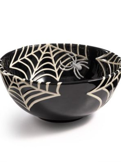 Martha Stewart Spider Web Treat Bowl