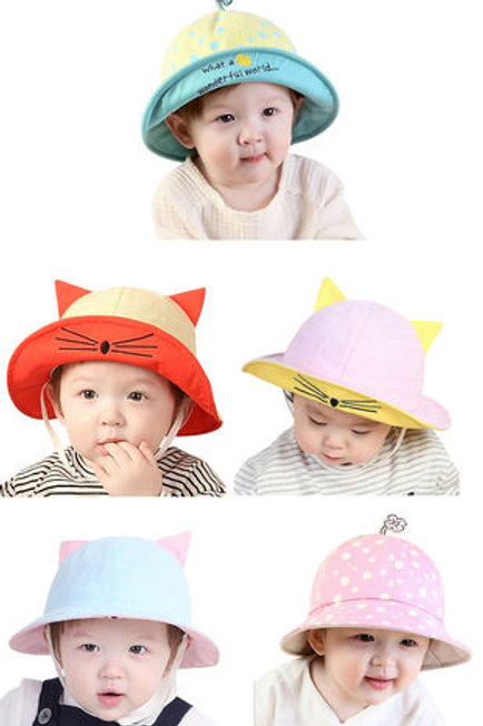 Toddler Sun Hat Bucket Hat Fishermen Hat UPF 50+ Beach Hat