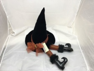 Woof & Poof Velvet Witch Hat