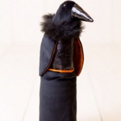 Woof & Poof Crow Bottle Cover