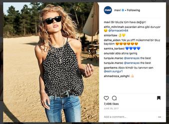 Mavi Jeans Instagram