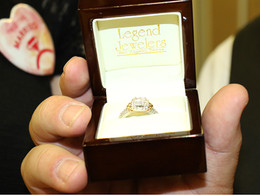 Leap Year Bride wins Legend Jewelers ring.