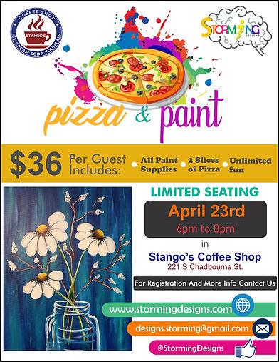 pizza & paint daisys flowers.jpg