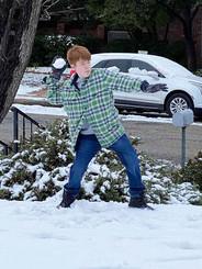 Let It Snow Let It Snow, Twice!
