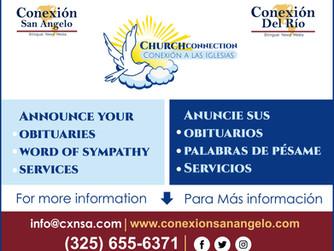 Church Connection / Conexión a las Iglesias