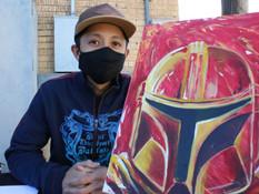 Art, creativity, featured at Santa Market