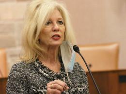Mayor Brenda Gunter has received the endorsement of the San Angelo HomeBuilders Association