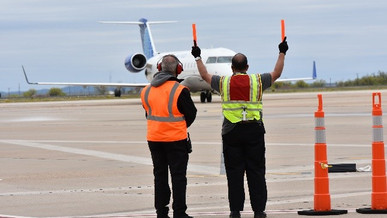 Debut of Flight from Houston to San Angelo