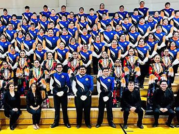 Mighty Ram Band makes history