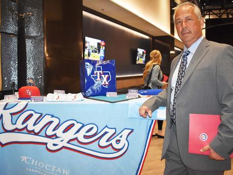A legend of the Texas Rangers Radio Spanish Announcer