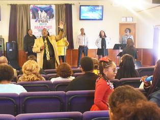 MLK 33rd anniversary, Gospel Explosion