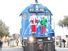 Here Comes Santa Down Railway Lane
