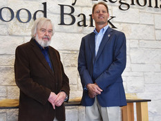 Regional Food Bank San Angelo expanded to new building.