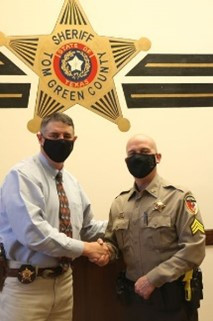 Sheriff's Office Promotes Kirkland to Sergeant