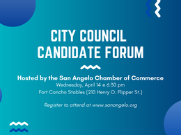 Chamber to host mayoral and city council candidates forums