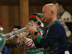 Community Band Performs Christmas Music