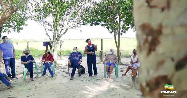 Prefeitura de Tomé-Açu realiza parceria para implantação do projeto 'Restauração Florestal'