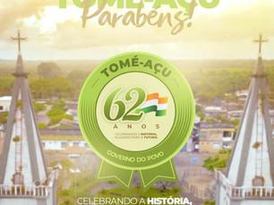Comemoração aos 62 anos da nossa querida Tomé-Açu